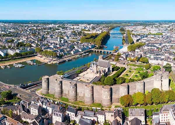 Angers and the River Loire