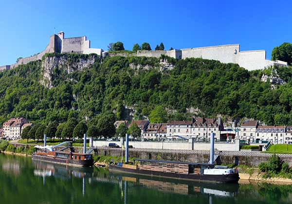 Besançon from the River Doubs
