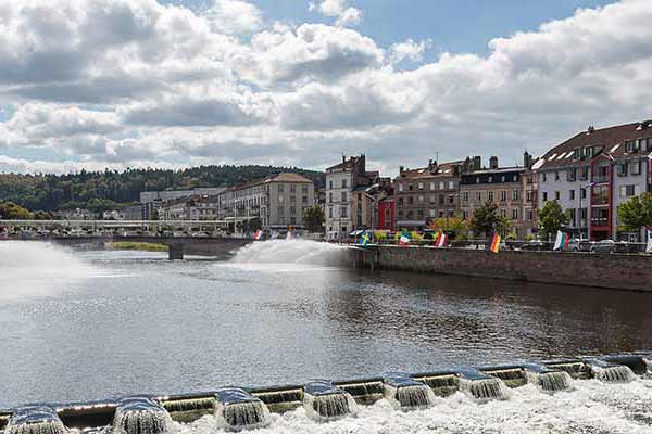 Epinal and the River Moselle