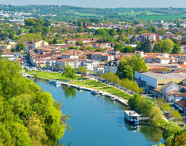 Angoulême and the River Charente