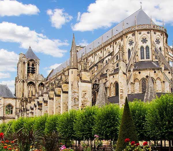 The cathedral of Bourges