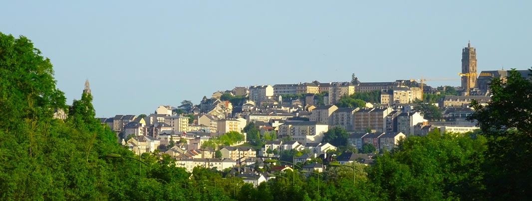 The city of Rodez