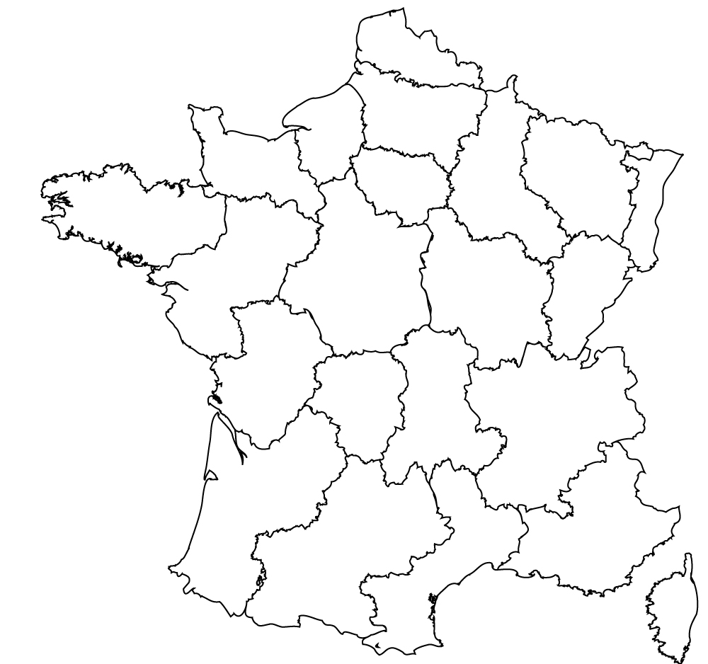Regions In France Map.Maps Of The Regions Of France