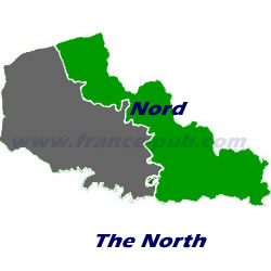 Department map of Nord