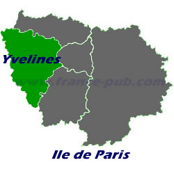 Map Of Yvelines France.Information About Yvelines Ile De France