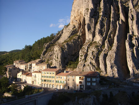 The town of Sisteron