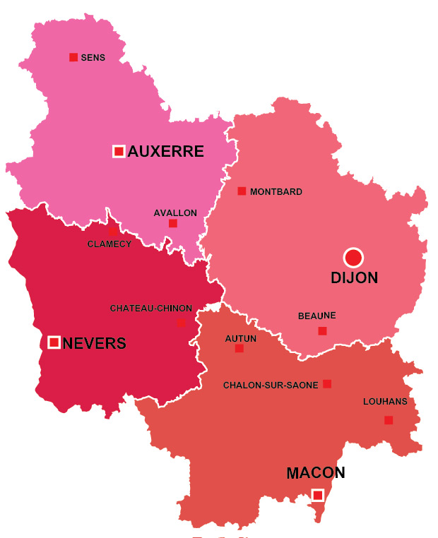 Burgundy region of France all the information you need