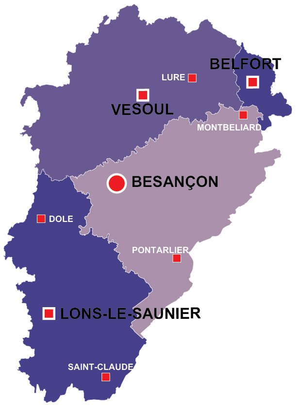 Franchecomte region of France all the information you need