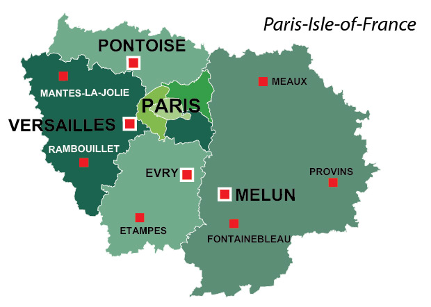 ParisIsleofFrance region of France all the information you need
