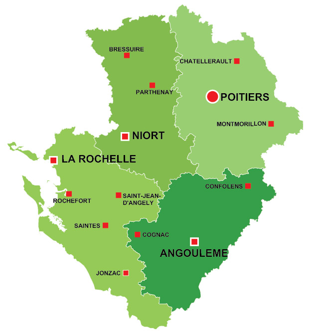 PoitouCharentes region of France all the information you need