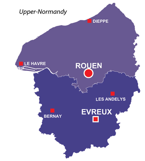 UpperNormandy region of France all the information you need