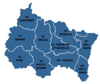 AlsaceChampagneArdenneLorraine region of France all the