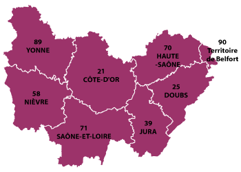 BourgogneFrancheComt region of France all the information you need