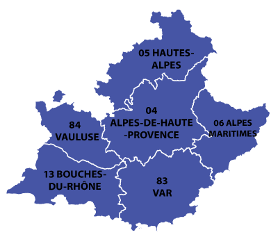 Map Of Provence France With Cities.Provence Alpes Cote D Azur Region Of France All The Information You