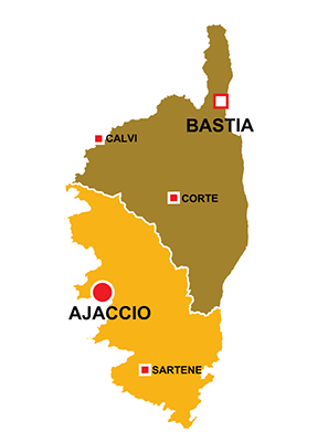 Map Of France And Corsica.Corsica Region Of France All The Information You Need