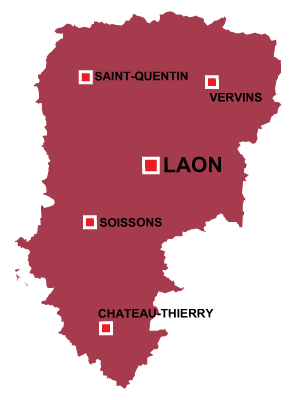 Laon in Aisne