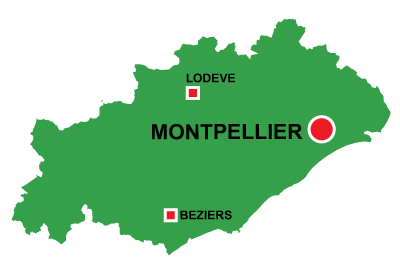 Montpellier in Hérault