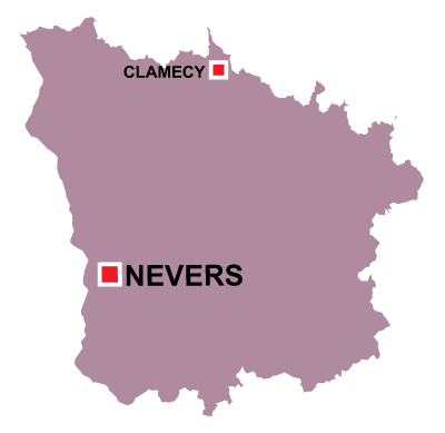 Nevers in Nièvre