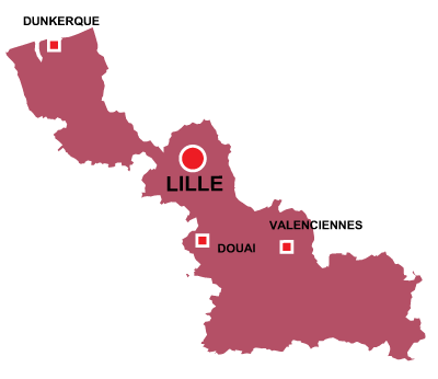 Lille in Nord