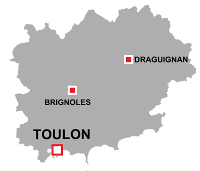 Toulon in Var
