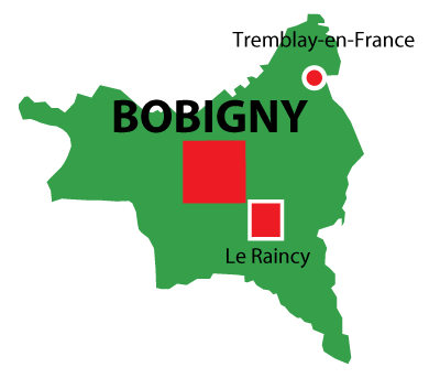 Bobigny in Seine Saint Denis