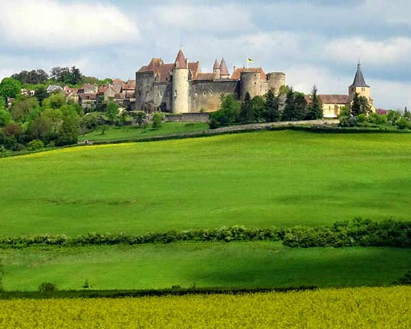 Chateauneuf in Burgundy